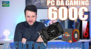 Configurazione PC DA GAMING 600€ - Ryzen + 1050TI