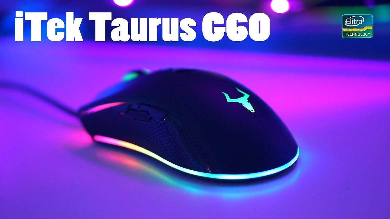 Itek Taurus G60 - MOUSE DA GAMING RAINBOW!