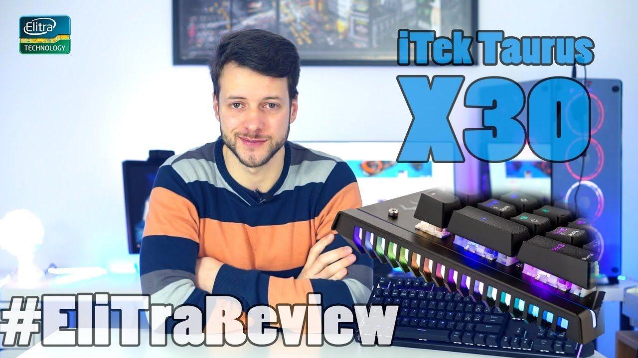 iTek Taurus X30 - Recensione e guida al software