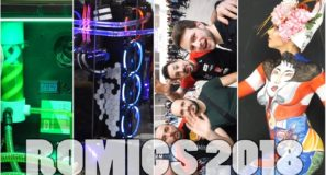 ROMICS 2018 - Modding - Cosplay - Body Painting - AMICI!