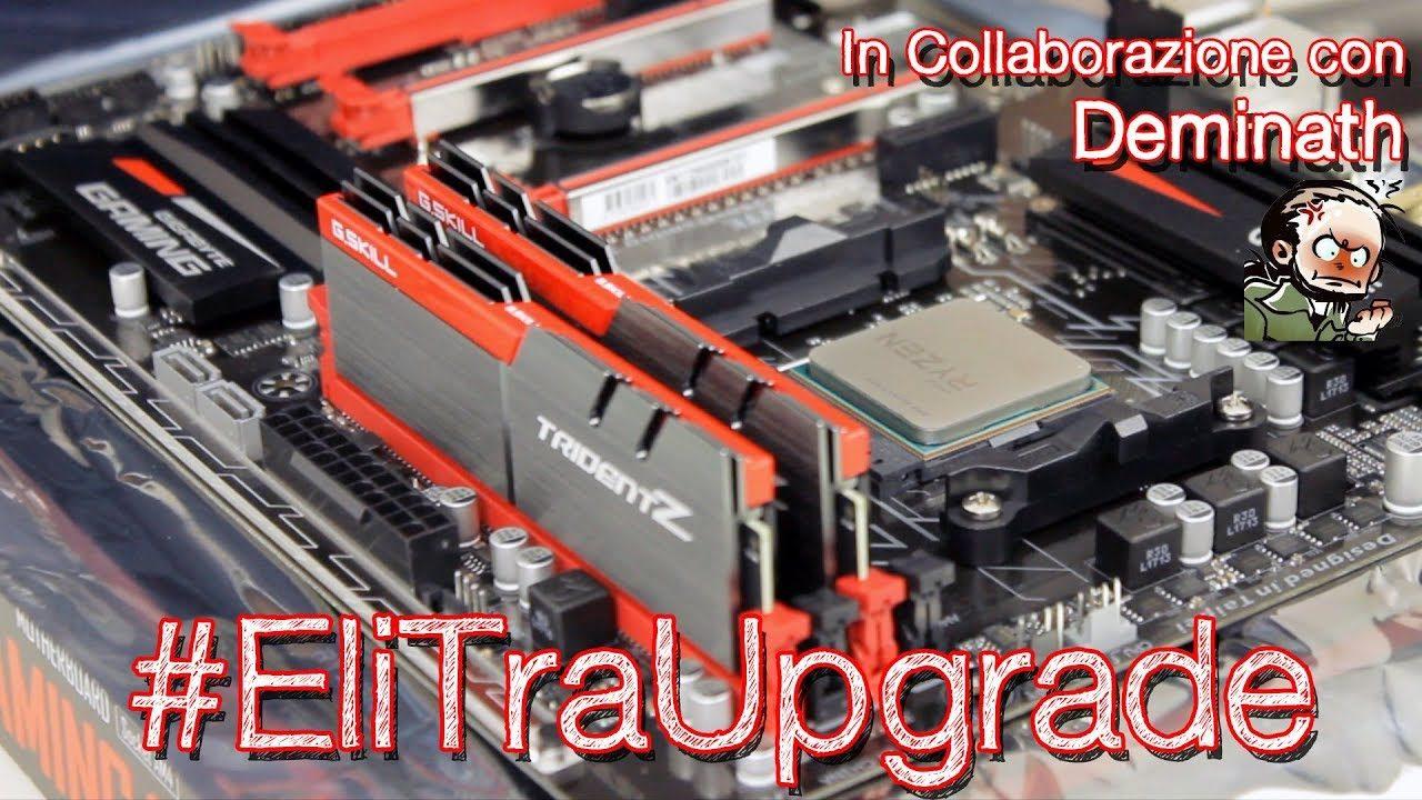 Assembliamo il PC di Deminath - Ryzen 5 1600 | #EliTraUpgrade
