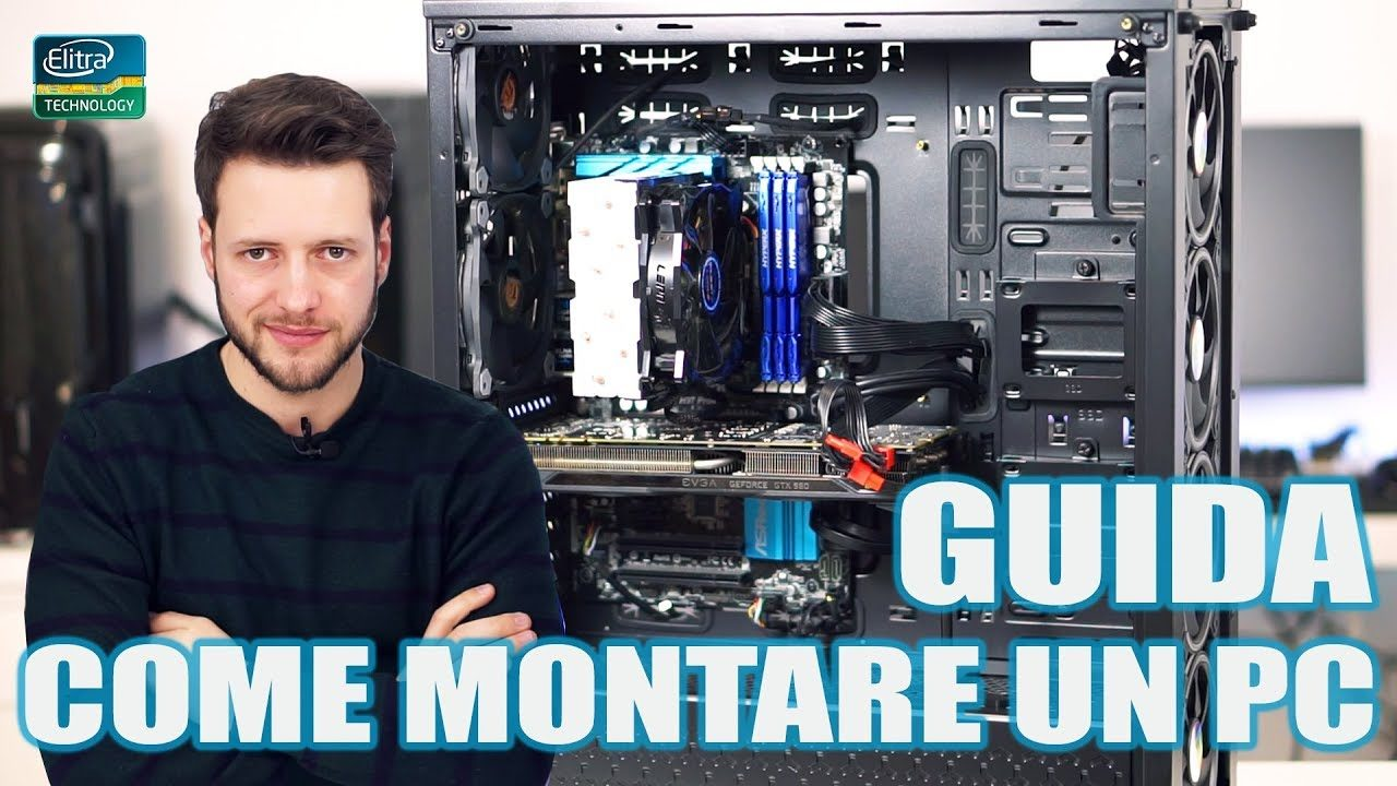 COME MONTARE UN PC || CTesports ORION