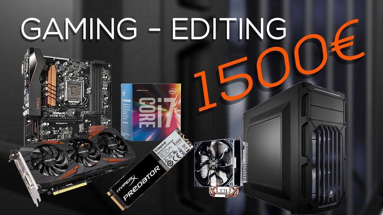 Configurazione gaming - editing 1500€ - Novembre 2016   4K