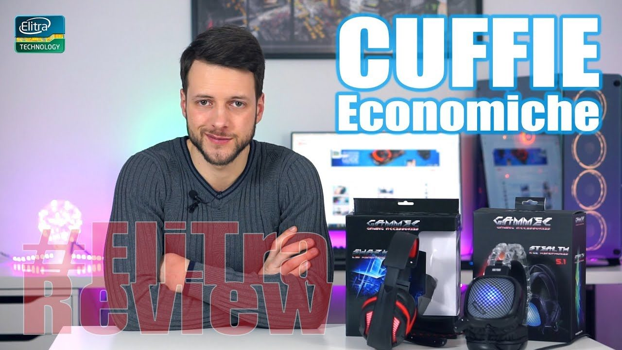 Cuffie da Gaming sotto i 20€ - SHARK e STEALTH