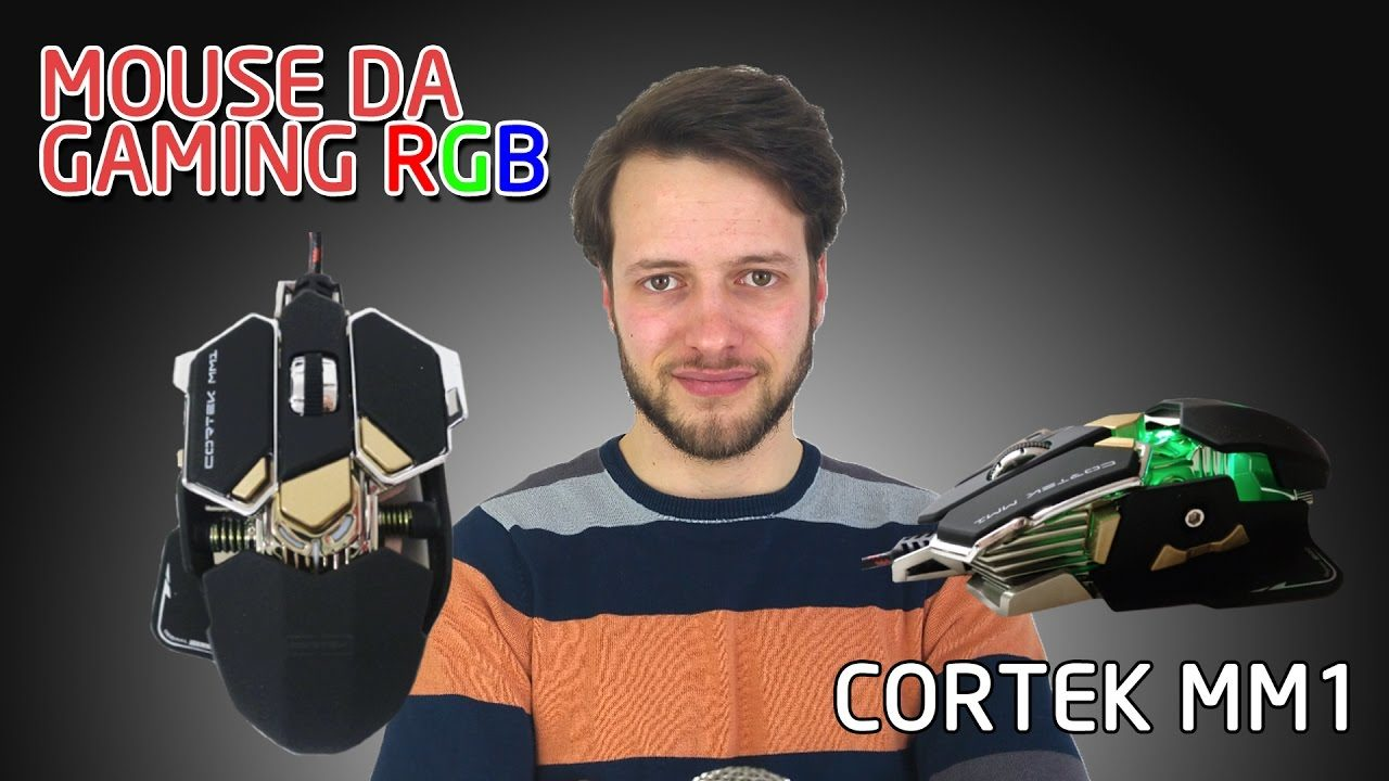Recensione Mouse da Gaming RGB Cortek MM1 | 4K