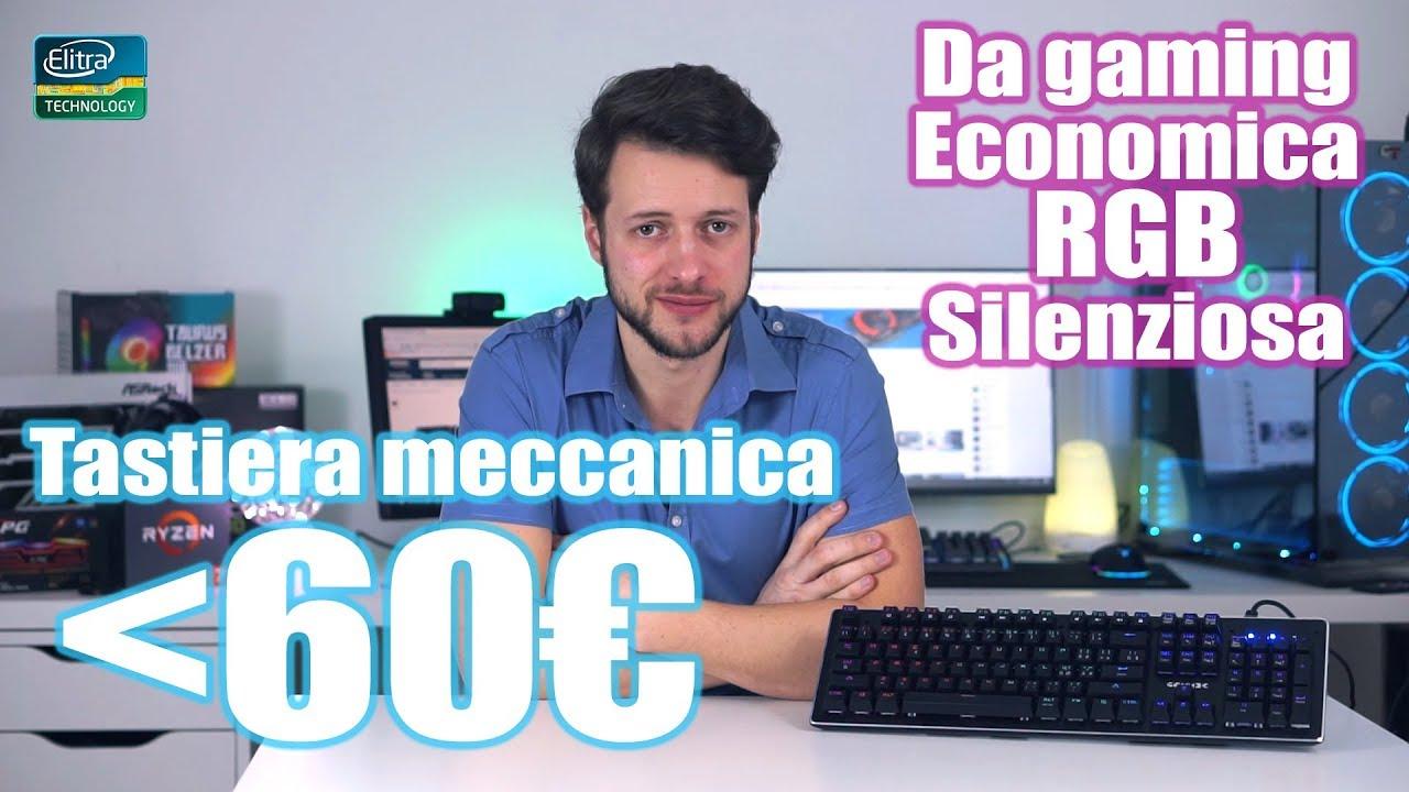 Tastiera meccanica a meno di 60€ | XBLADE GAMMEC RGB
