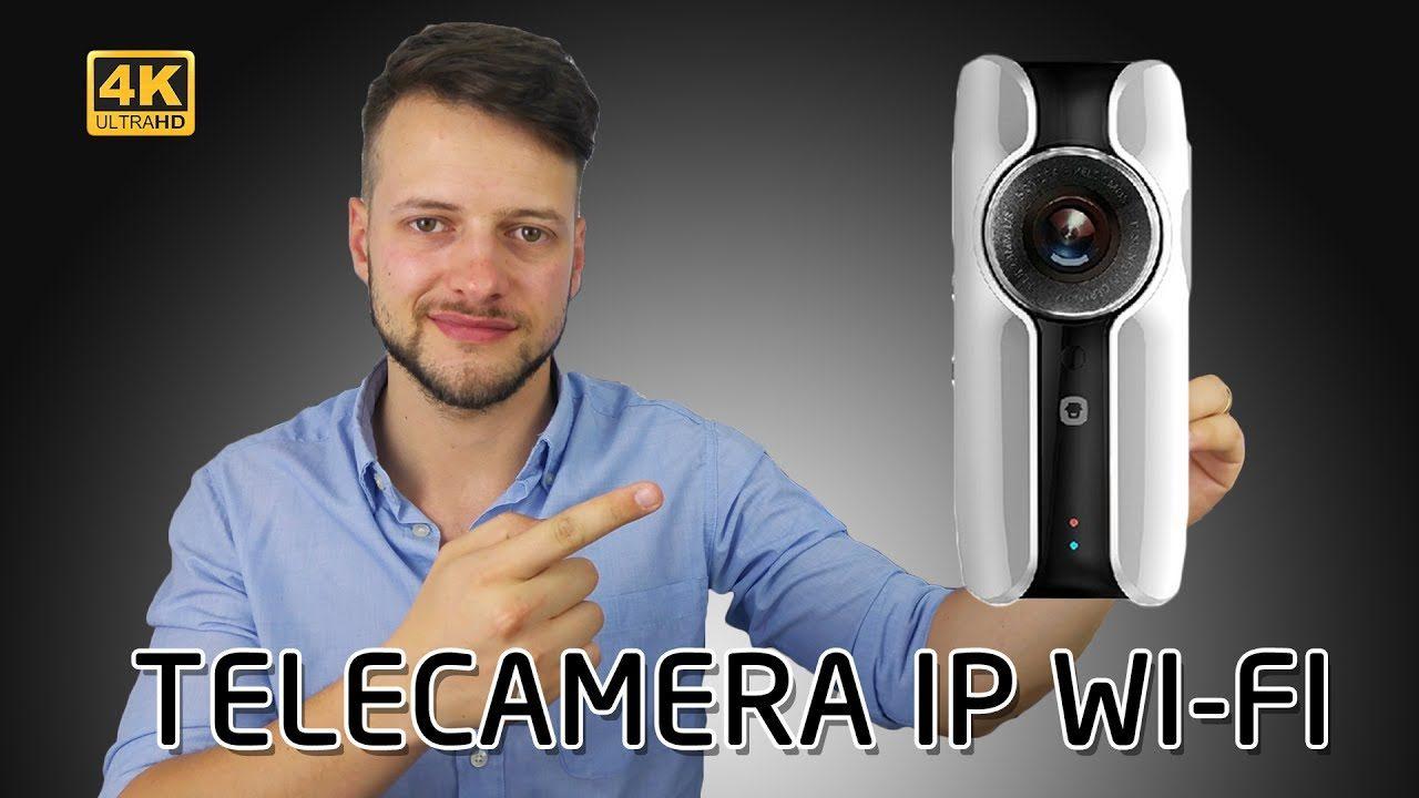 VIDEOCAMERA IP WIFI con APP per monitorare da remoto | 4K