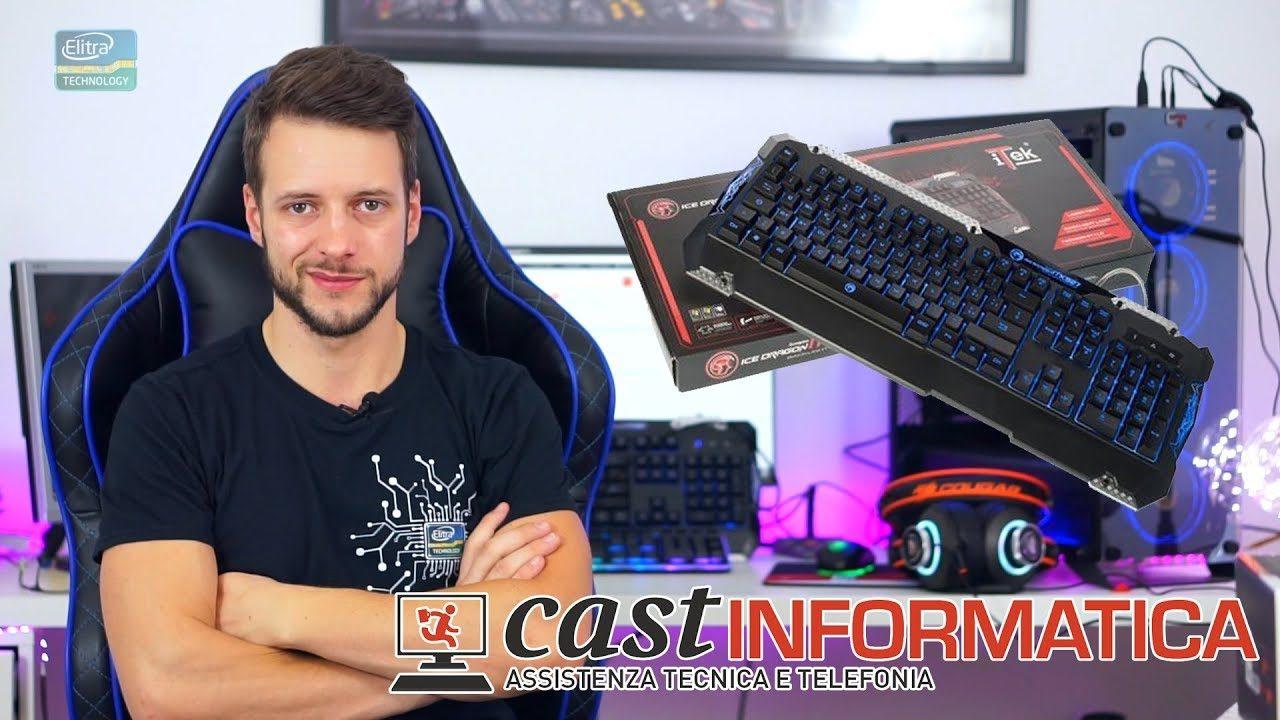 Tastiera da Gaming ECONOMICA 20€ - ITEK ITK927
