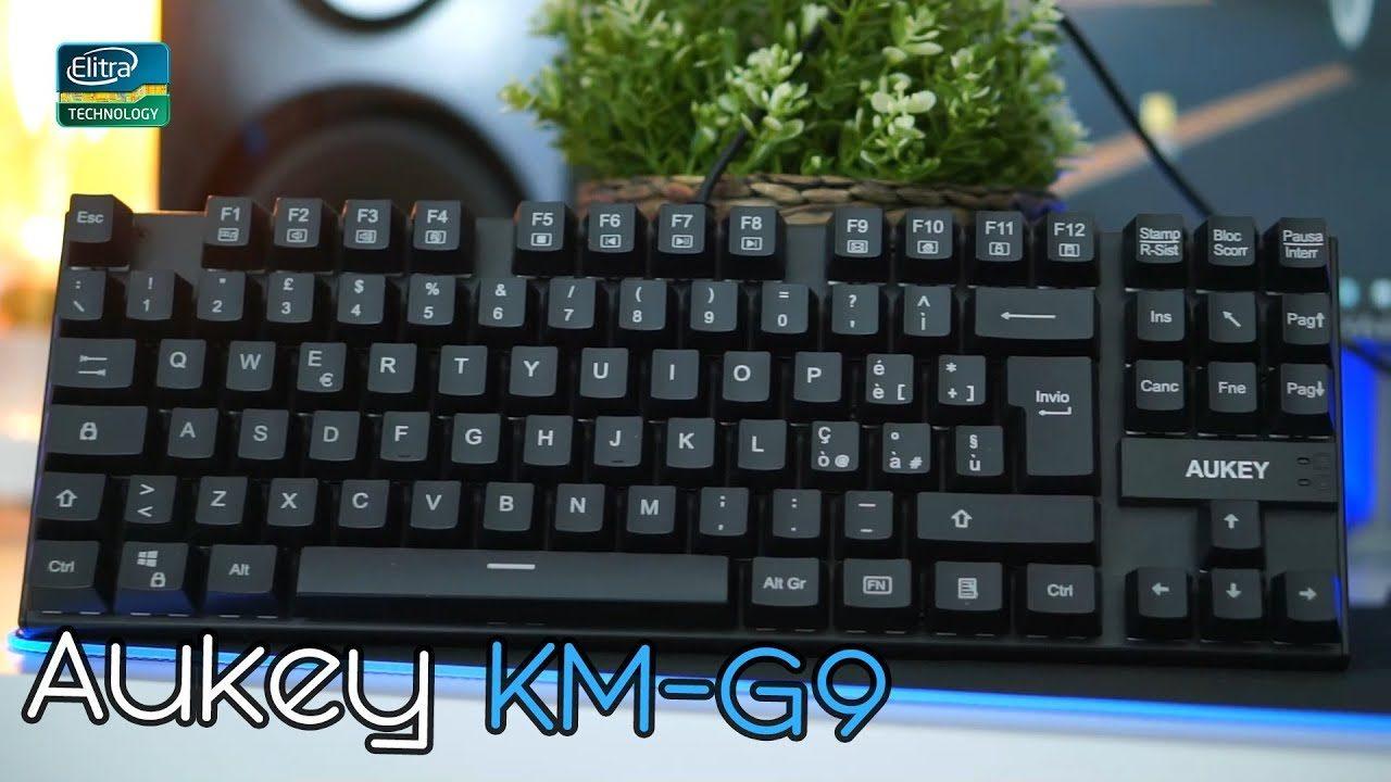 Tastiera meccanica AUKEY KM-G9 a 30€