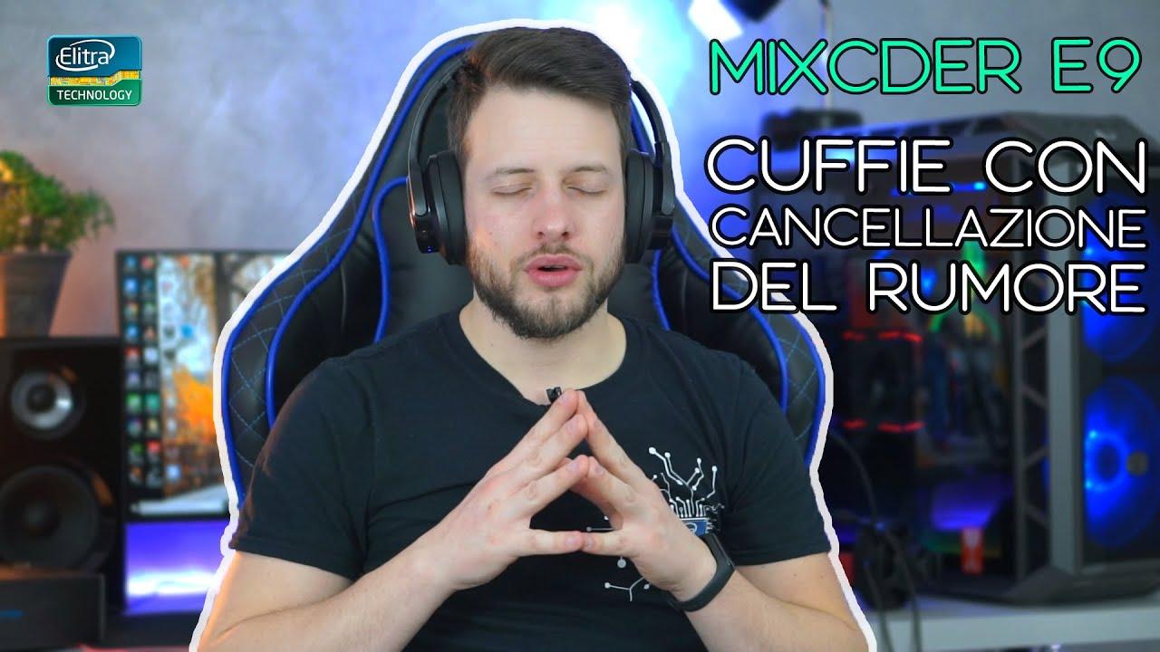Cuffie bluetooth con cancellazione del rumore - MIXCDER E9