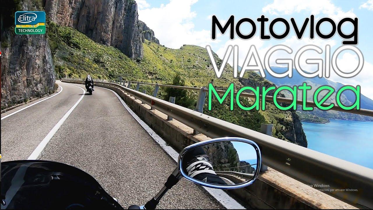 Viaggio verso MARATEA! Uscite di gruppo - Yamaha FZ6