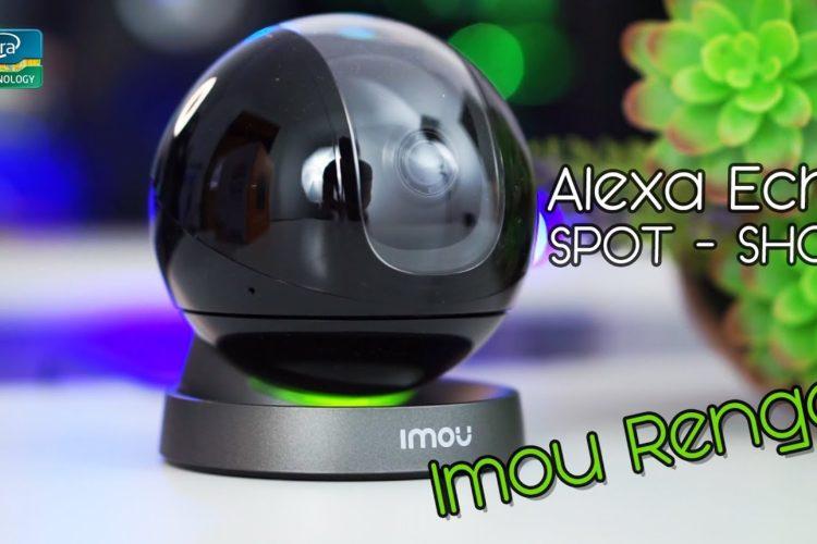 Videocamera compatibile con ALEXA ECHO SPOT e SHOW