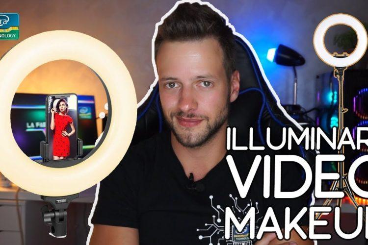 Illuminare video e prodotti - Lampada LED RING ad ANELLO